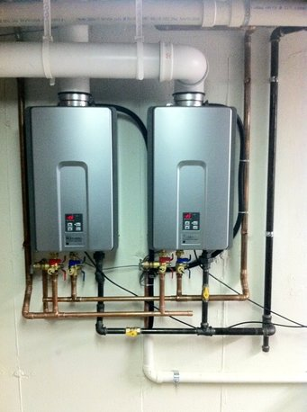 Tankless Water Heater Install in St Petersburg FL