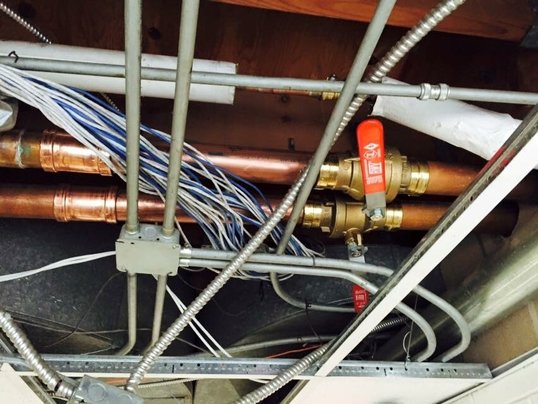 Perfect Copper Piping job done by our Experienced Plumbers